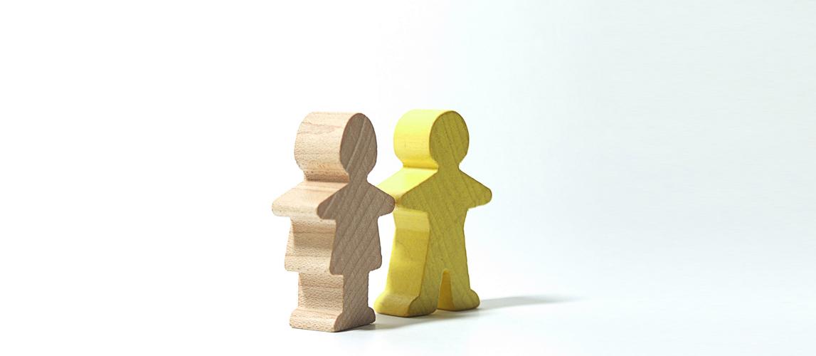 little wooden people